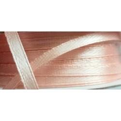 Satiininauha, leveys 4 mm, persikka (3 metriä)