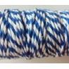 Puuvillanyöri, sininen, leveys 2 mm (3 metriä)