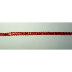 <b>Koristenauha, punakulta, leveys 6 mm</b>