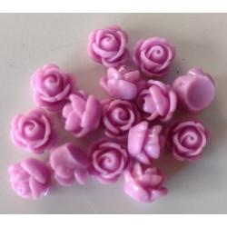 Akryyliruusu, lila (15 kpl)