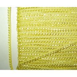 <b> Picot-nauha, leveys 3 mm, keltainen</b>