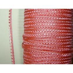 Picot-nauha, leveys 3 mm, ruusunpunainen (2 metriä)