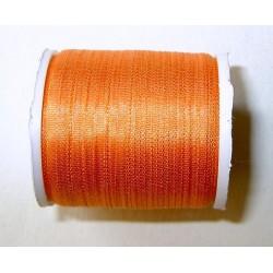 <b> Silkkinauha, oranssi, leveys 2 mm</b>