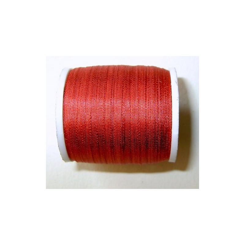 <b> Silkkinauha, tummanpunainen, leveys 2 mm</b>