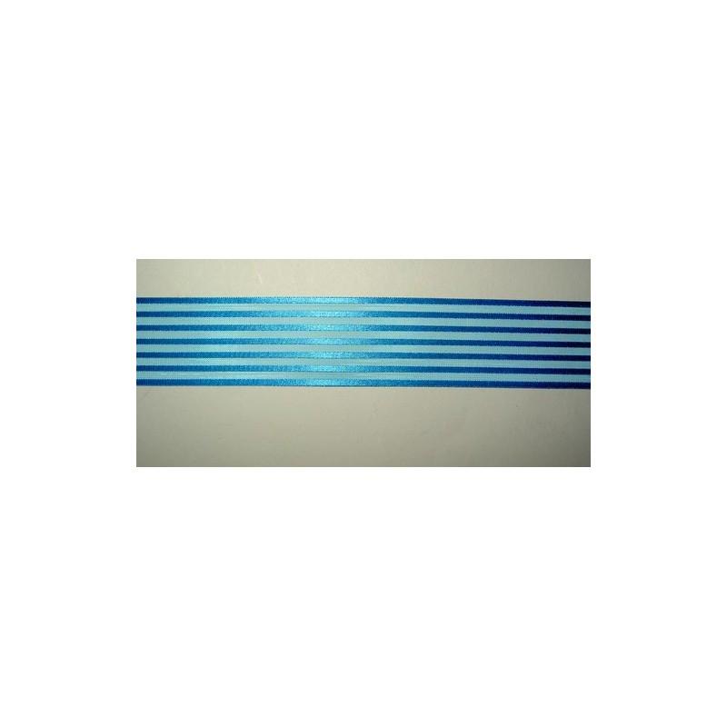 <b> Satiiniraitanauha, turkoosi, leveys 36 mm</b>