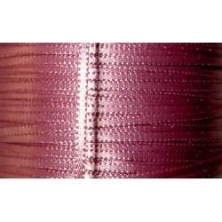Satiininauha, leveys 2 mm, vanha roosa (3 metriä)