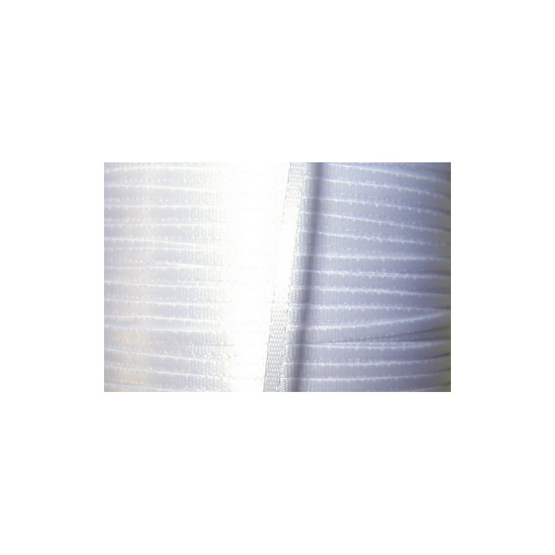 <b> Satiininauha, leveys 2 mm, valkoinen</b>