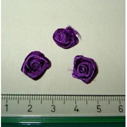Pieni satiiniruusu, tumma lila (10 kpl)