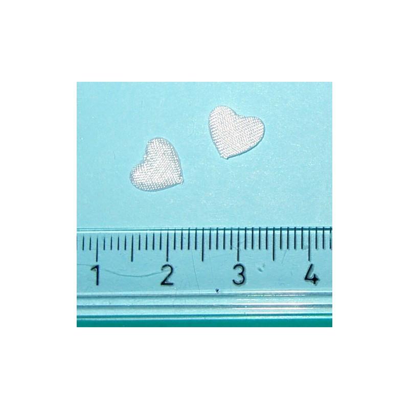 <b> Satiinisydän, valkoinen mini (30 kpl)</b>