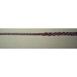 2 mm metallilacetnauha, lila (2 metriä)