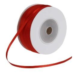 <b> Satiininauha, leveys 3 mm, punainen</b>