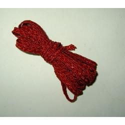 <b>Olkihattunauha, tummanpunainen, leveys 5 mm</b>