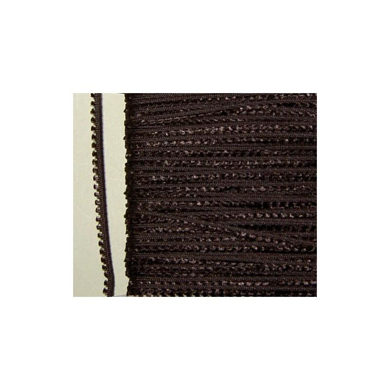 <b> Picot-nauha, leveys 3 mm, tummanruskea</b>