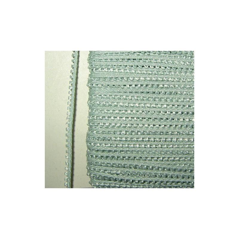 <b> Picot-nauha, leveys 3 mm, hento vaaleanvihreä</b>