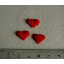 Sydän, punainen (12 kpl)