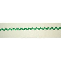 <b>Siksaknauha, leveys 3 mm, vihreä</b>