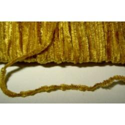 Chenillenauha fine, leveys n. 1 mm, kullanruskea (5 metriä)