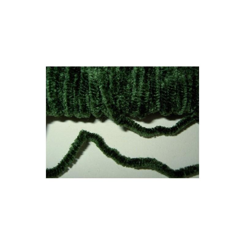 <b>Chenillenauha medium, leveys n. 2 mm, pullonvihreä</b>