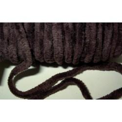 <b>Chenillenauha thick, leveys n. 4 mm, tummanruskea</b>
