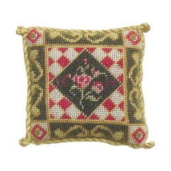 <b>NM56 Tyyny, Rose with Geometric Border 4 </b>