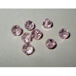 LH pyöreä 4mm, vaaleanpunainen (20 kpl)