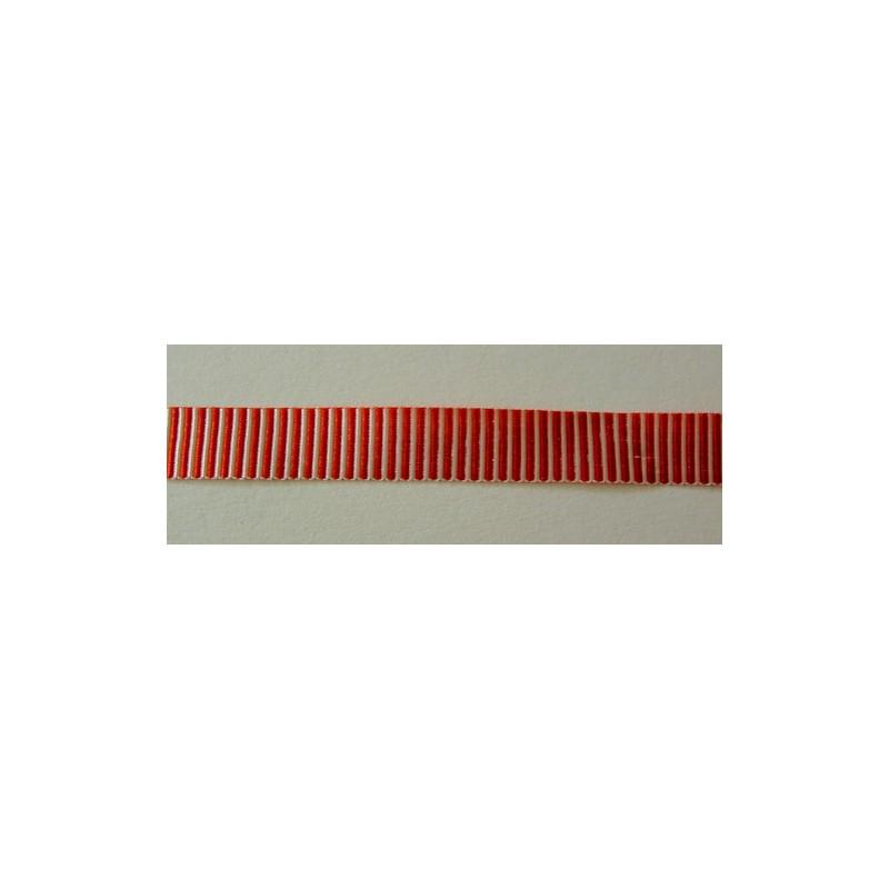 <b>Raitanauha, punavalkoinen, leveys 10 mm</b>