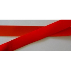 Samettinauha, punainen, leveys 18 mm (2 metriä)