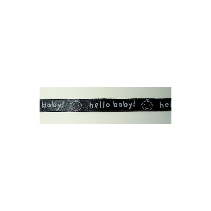 <b>Satiininauha, hello baby, leveys 10 mm</b>