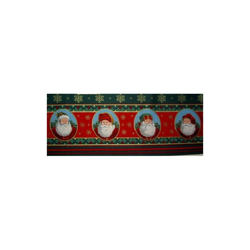 <b>Kangaskuva, joulupukit II</b>