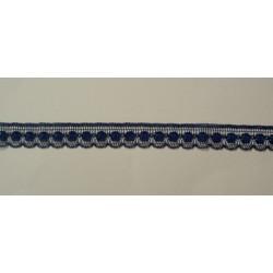 Pitsi, tummansininen, leveys 13 mm