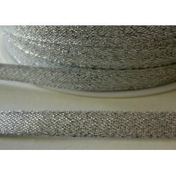 Kimallenauha hopea, leveys 6 mm (2 metriä)