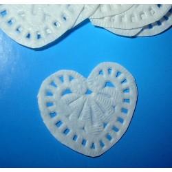 Kakkupaperi, sydän (10 kpl)