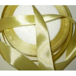 Satiininauha, leveys 20 mm, vaalea kulta (2 metriä)