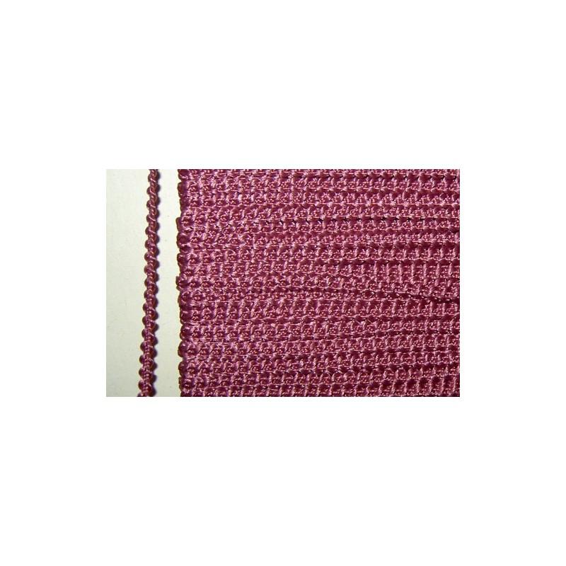 <b>Knobbly-nauha, leveys 3 mm, vanha roosa</b>