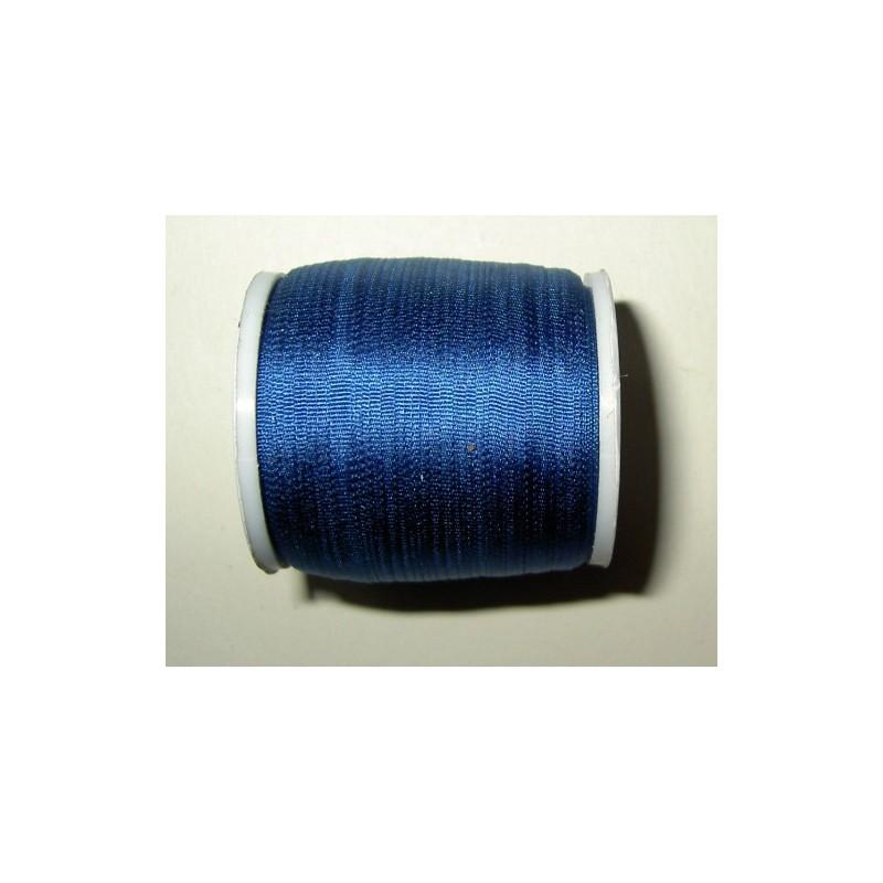 <b> Silkkinauha, sininen, leveys 2 mm</b>