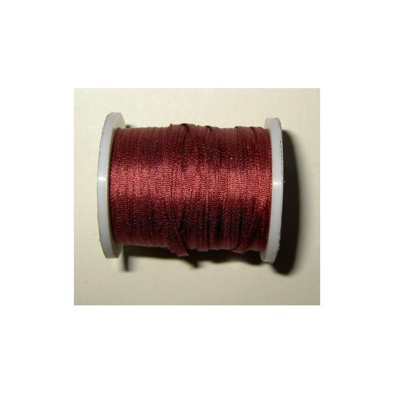 <b> Silkkinauha, viininpunainen, leveys 2 mm</b>