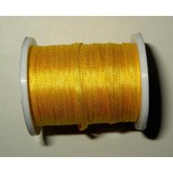 <b> Silkkinauha, kullankeltainen, leveys 2 mm</b>