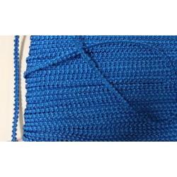 Knobbly-nauha, leveys 3 mm, sininen (2 metriä)